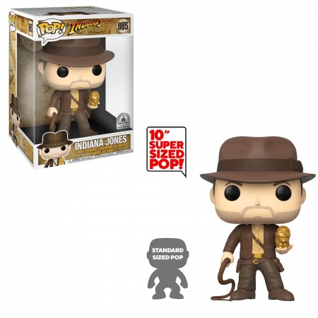Funko Pop Indiana Jones (10-inch)-Indiana Jones-885