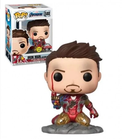 Funko Pop Iron Man-Vingadores-580