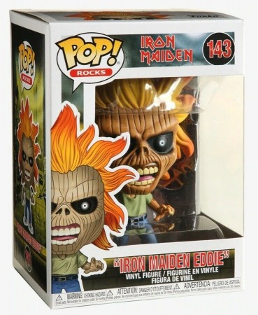 Iron Maiden Eddie - Funko Pop! Rocks-Iron Maiden-143