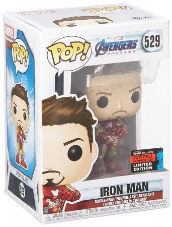 Iron Man - Tony Stark - Marvel - Avengers Endgame - Funko Pop! Exclusivo Nycc 2019-Iron Man-529