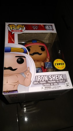 Funko Pop Iron Sheik Chase-WWE-43