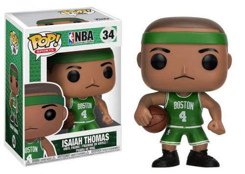 Funko Pop Isaiah Thomas Nba Basquete Boston Celtics Novo Original-NBA-34