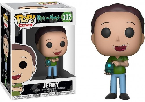 Funko Pop Jerry-Rick and Morty-302