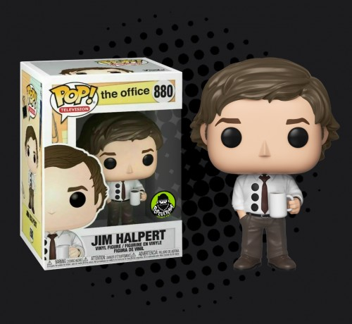 Funko Pop Jim Halpert Exclusivo-The Office-880