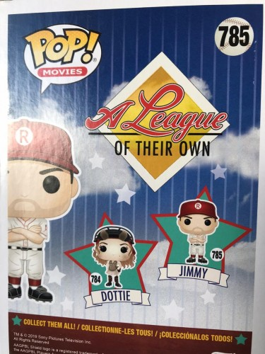 Funko Pop! Jimmy ( Tom Hanks ) - A League Of Their On - #785
