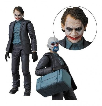 Action Figures Joker Mafex Nº015 - Coringa-The Dark Knight-