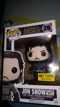 Funko Pop Jon Snow Hot Topic-Game of Thrones-26