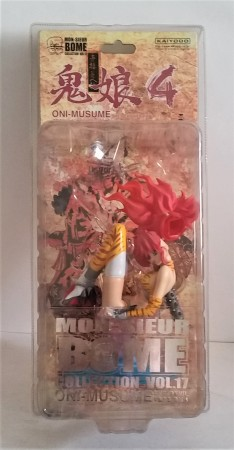 Action Figures Kaiyodo Bome #17 Oni Musume She Devil Version 4 Bishoujo-Mon-Seiur Bome-