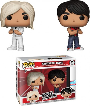 Funko Pop Katayanagi Twins  2 Pack - 2018 Fall Convention-Scott Pilgrim Contra O Mundo-2