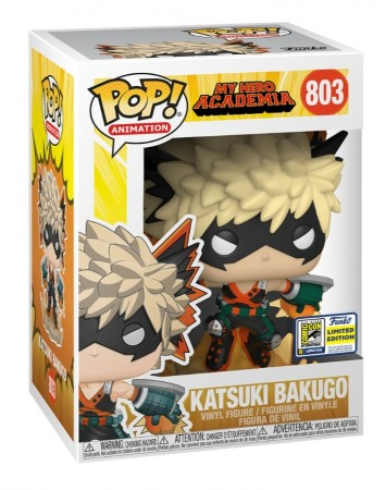 Funko Pop Katsuki Bakugo Excl. Sdcc(shared Sticker)-My Hero Academia-803