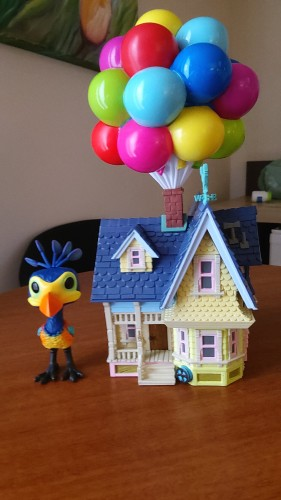 Funko Pop Kevin With Up House-UP Altas Aventuras-1