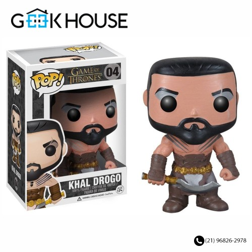 Funko Khal Drogo #04-Game of Thrones-4