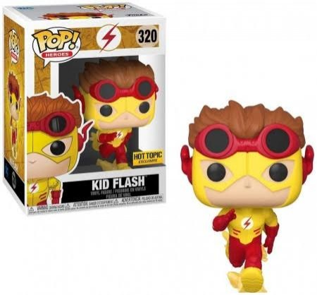 Funko Pop Kid Flash - Hot Topic-DC Super Heroes-320