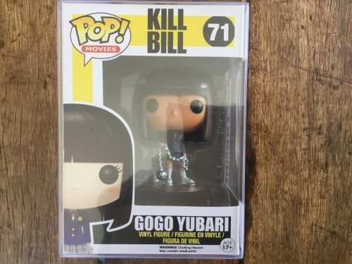 Funko Pop Kill Bill Gogo Yubari Vaulted Retired Raro Com Protetor-Kill Bill-71