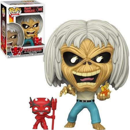 Funko Pop The Number Of The Beast Eddie-Iron Maiden-145