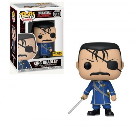 Funko Pop King Bradley - Hot Topic-Fullmetal Alchemist-733