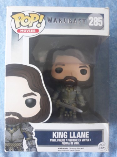Funko King Llane-World Warcraft-1