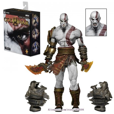 Action Figures Kratos - Ghost Of Sparta - Gow3-God of War-