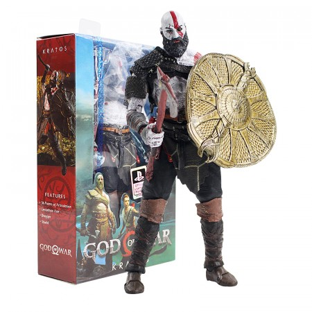 Action Figures Kratos Neca - Oficial Sony Ps4-God Of War-