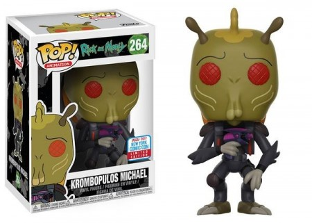Funko Pop Krombopulos Michael Nycc2017-Rick And Morty-264