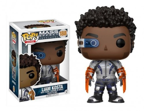 Funko Pop! Games: Mass Effect Andromeda - Liam Kosta - Mass Effect - #188