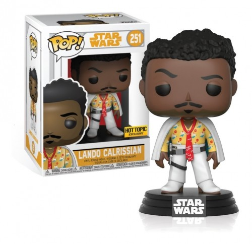 Funko Pop Lando Calrissian Exclusive Com Protetor Star Wars-Star Wars-251