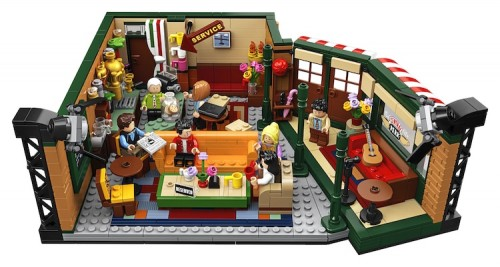 Lego Friends Central Perk - Friends - #21319