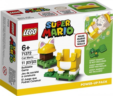 Lego Super Mario Pack Power-up - Mario Gato 71372-Super Mario-6288934
