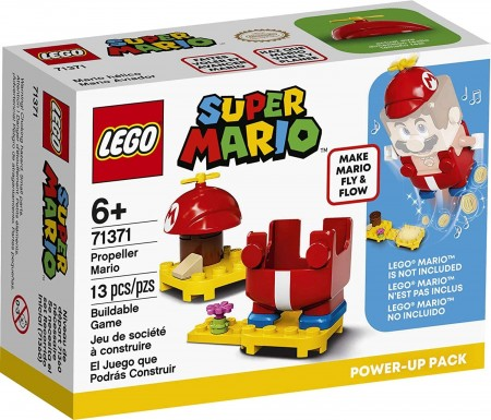 Lego Super Mario Pack Power-up - Mario Hélice 71371-Super Mario-6288932