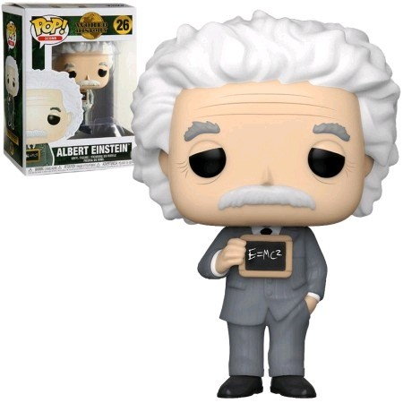 Funko Pop Albert Einstein-World History-26