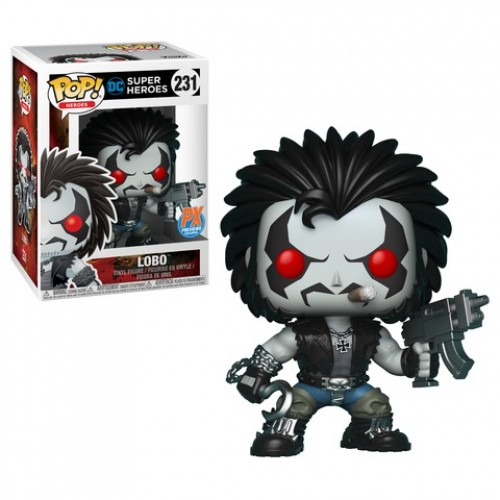 Funko Pop Lobo - Px Preview Exclusives-DC Super Heroes-231