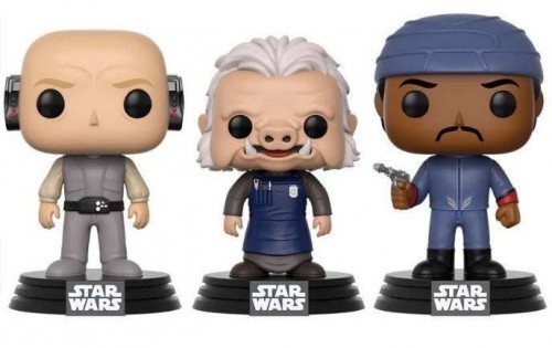 Funko Pop Lobot, Ugnaught & Bespin Guard. 3 Pack. Exclusive. Star Wars. 40 Anos-Star Wars-3