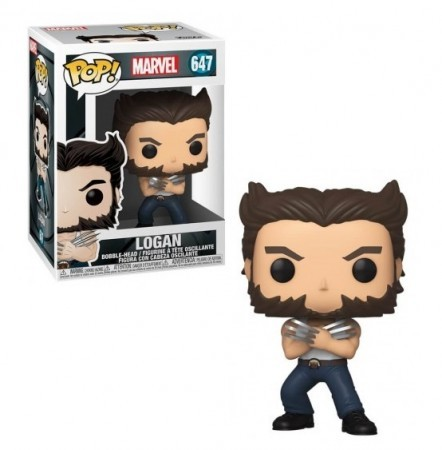 Funko Pop Logan-X-Men 20th Anniversary-647