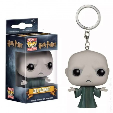 Chaveiro Lord Voldemort - Pocket Pop! Funko-Harry Potter-
