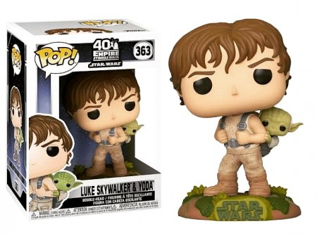 Funko Pop Luke With Yoda-Stars Wars-363