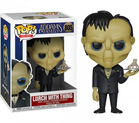 Funko Pop Lurch With Thing-The Addams Family-805