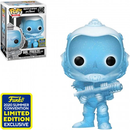Funko Pop Mr. Freeze Sdcc-Batman & Robin-342