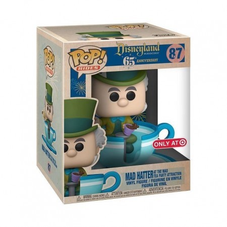 Funko Pop Mad Hatter At The Mad Tea (target)-Disneyland 65th Anniversary-87