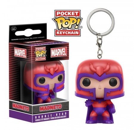 Chaveiro Magneto - Marvel Pocket Pop! Funko-X-Men-