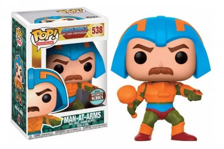 Funko Pop Man-at-arms-Masters of the Universe-538