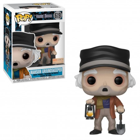 Funko Pop Mansion Groundskeeper Exclusivo Boxlunch-The Haunted Mansion-619