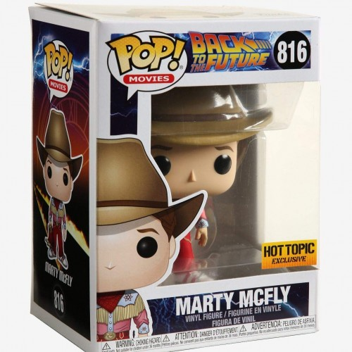 Marty Mcfly - Back To The Future - Funko Pop! Exclusivo Hot Topic-Back to the Future-816
