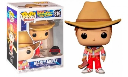 Funko Pop Marty Mcfly-Back to the Future-816