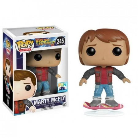 Funko Pop Marty Mcfly Hoverboard Fun-Back To The Future-245