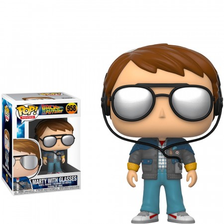 Funko Pop Marty With Glasse-De Volta Para O Futuro-958
