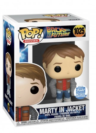 Marty In Jacket (funkoshop)-Back To The Future-1025