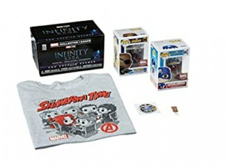 Funko Pop Marvel Avengers Infinity Saga - M T-shirt-Marvel Collector Corps-1