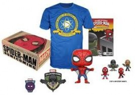 Funko Pop Marvel Collector Corps - Spiderman - Home Coming-Marvel Collector Corps-220