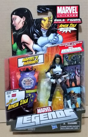 Action Figures Marvel Legends Arnim Zola Series Madame Masque-Marvel Comics-