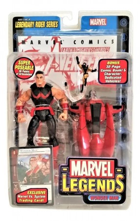 Action Figures Marvel Legends Legendary Rider Series Wonder Man Magnum-Marvel Comics-